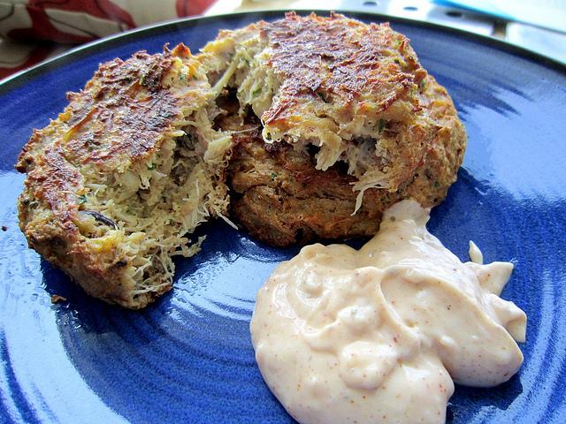 Baked maryland lump crab cake recipe