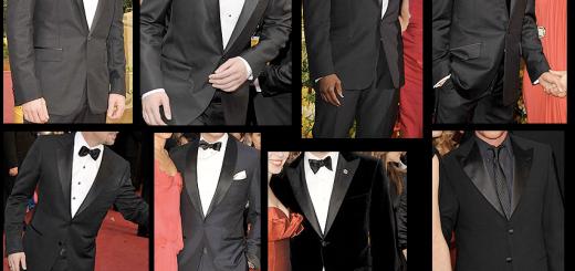 Academy Awards Mens Tuxedos
