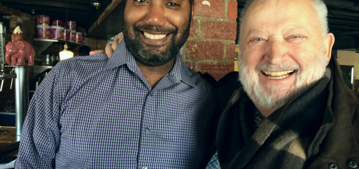 Me with Chef Michel Richard at Medium Rare